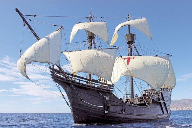Magellan Schiff Victoria