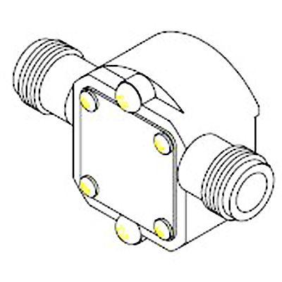 Replacement pump head kit for Shurflo 3000 flexi-vane