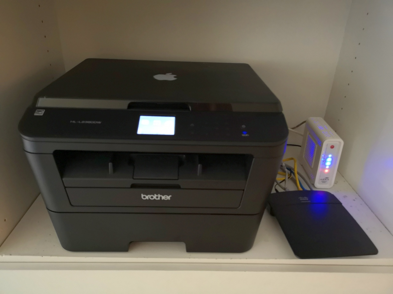 Internet WiFi and MFC printer