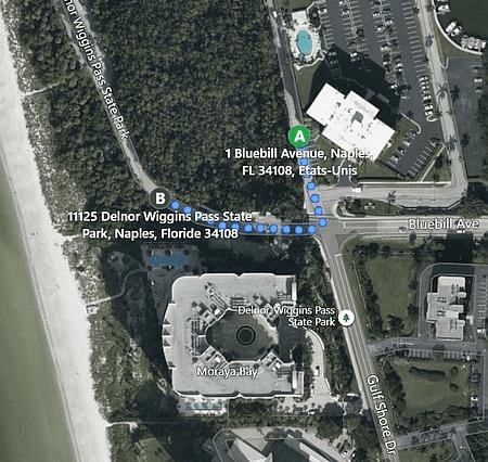 Vanderbilt Beach location