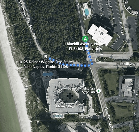 Vanderbilt Beach location