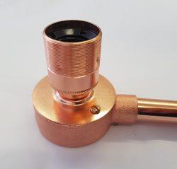 Copper end box