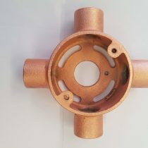 Copper conduit box