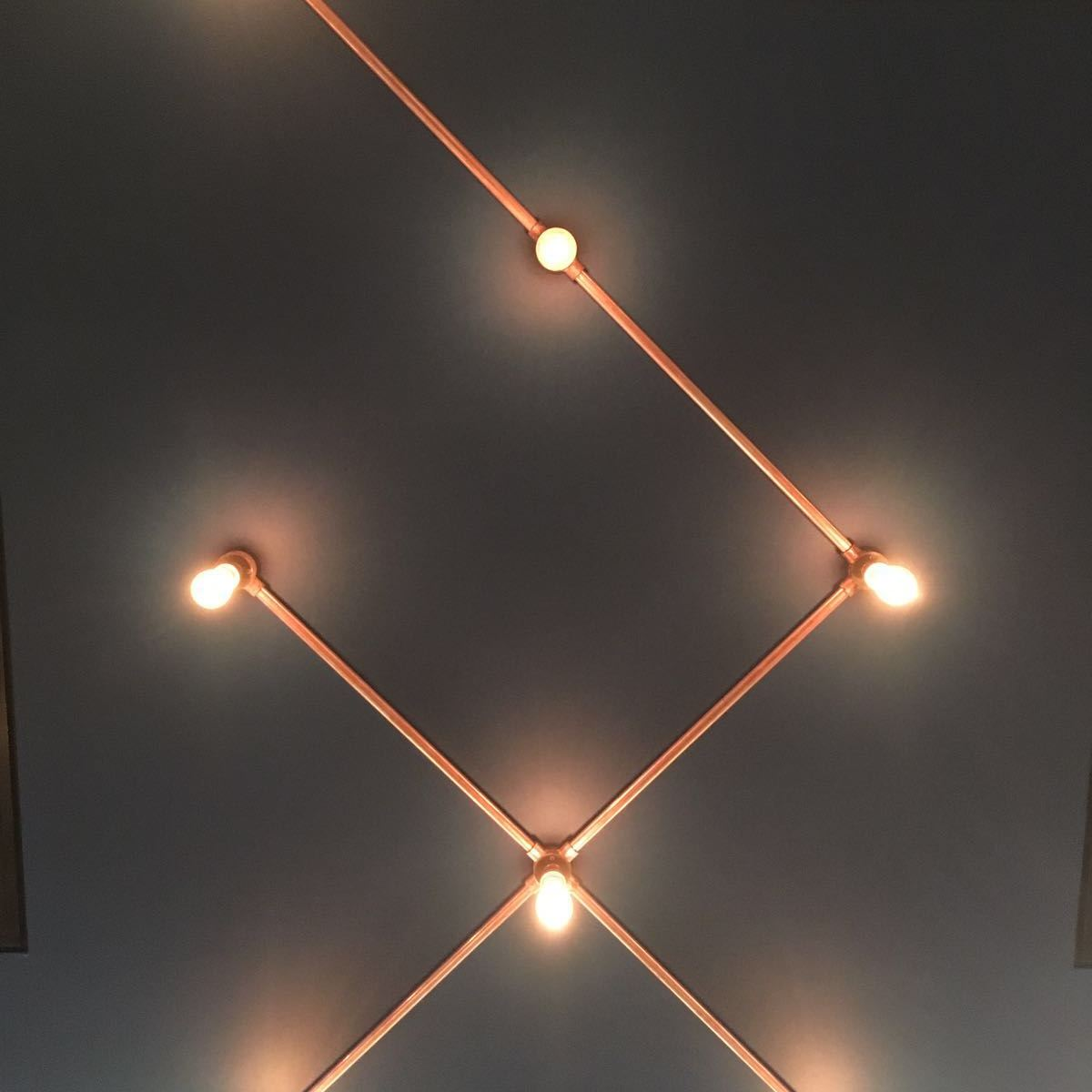 Conduit lighting - copper