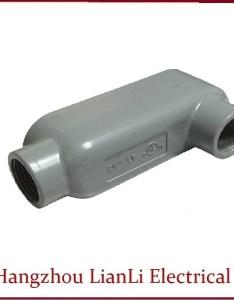 Aluminum rigid lb conduit body electrical pvc fittings bodies also rh conduitsfittings