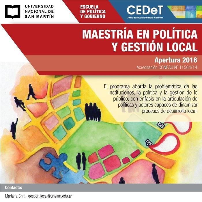 Maestria Politica Publica UNSAM