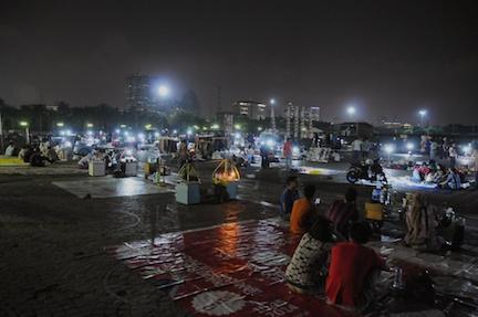 jakarta day 1 monas by night