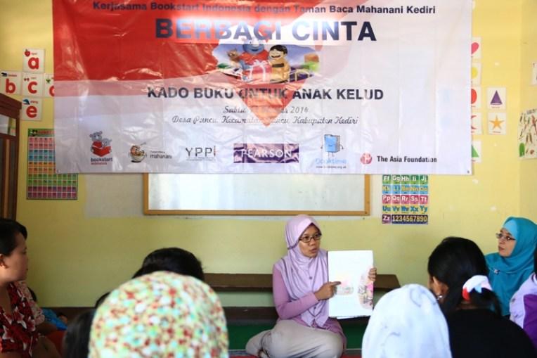 Workshop Story Telling Bookstart Indonesia