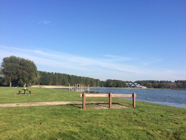 Piknik di danau satunya