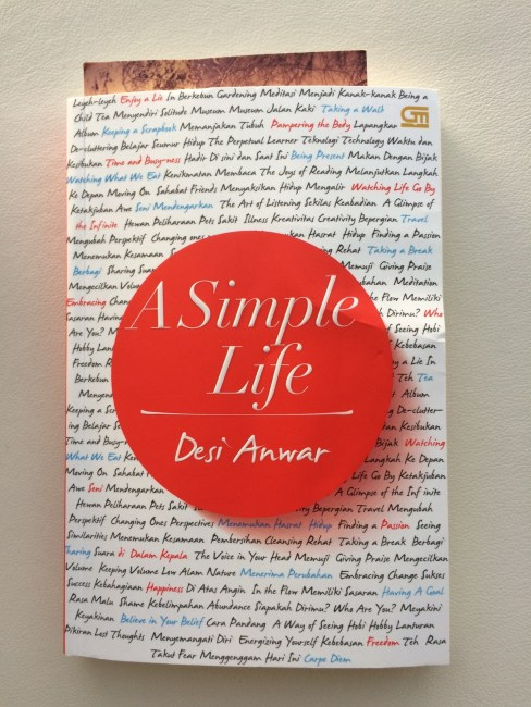 A Simple Life by Desi Anwar