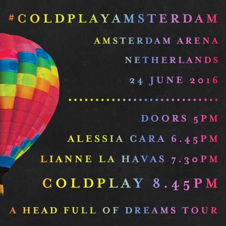 Coldplay Live at Amsterdam ArenA