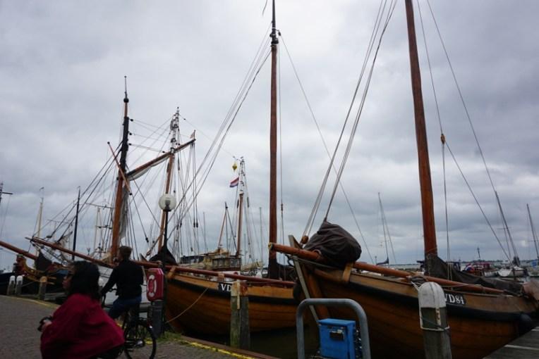 Jajaran kapal tua, mengingatkan akan Sunda Kelapa