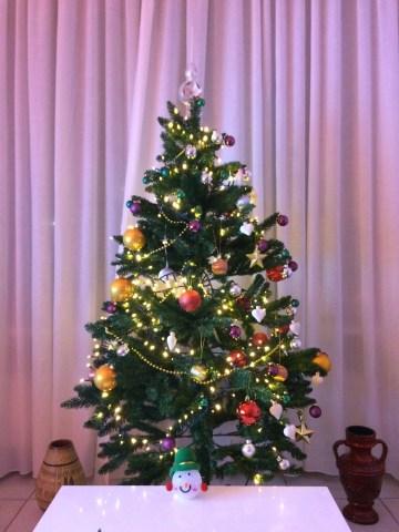 Pohon Natal di rumah *muncul lagi😅
