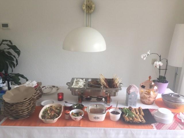 Makanan acara ulang tahun