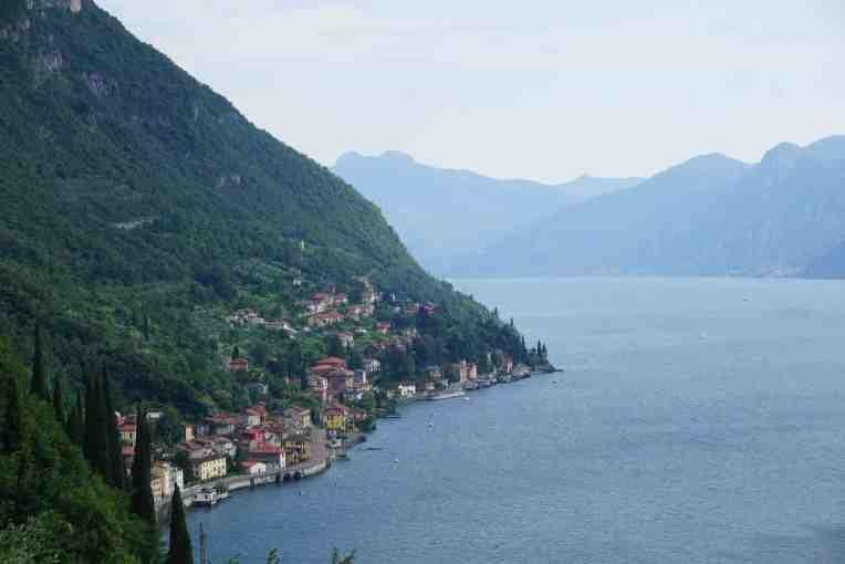 Dari atas Castello di Vezio - Varenna - Lake Como - Italy