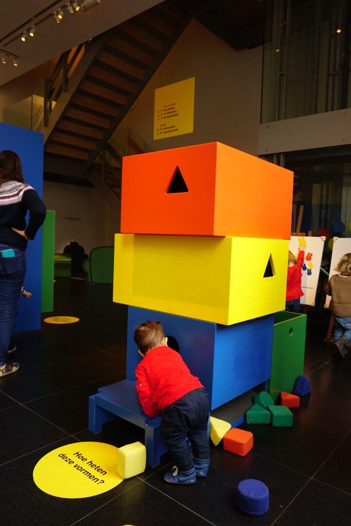 Bermain bentuk - Nijntje Museum - Utrecht - Belanda