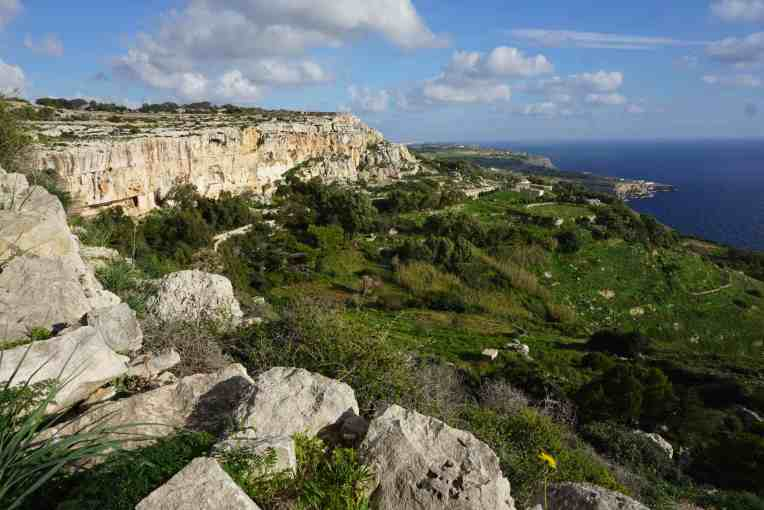 Trekking di Dingli Cliffs
