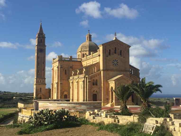Ta' Pinu, Gereja terbesar di Pulau Gozo
