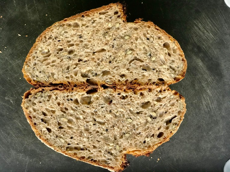 Sourdough Rustic Bread with Multigrain
