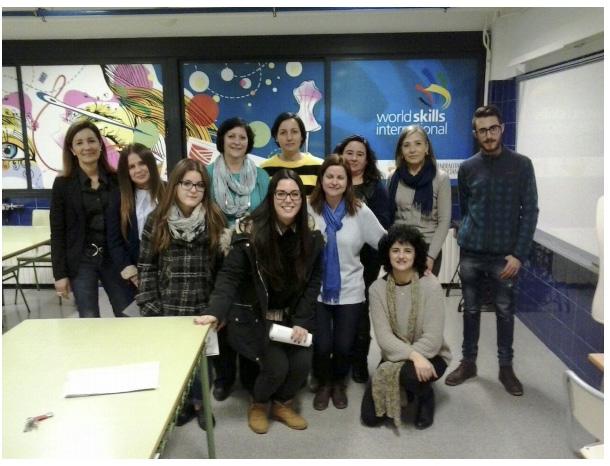 Ana Chovares alumna del instituto Sivera Font de Canals finalista en las competiciones  de destrezas  Skills  2015