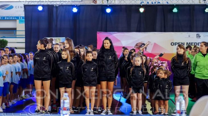 El Club circo y danza fantasi participa en el 1er open del mediterraneo Fit-Kid en Gandia
