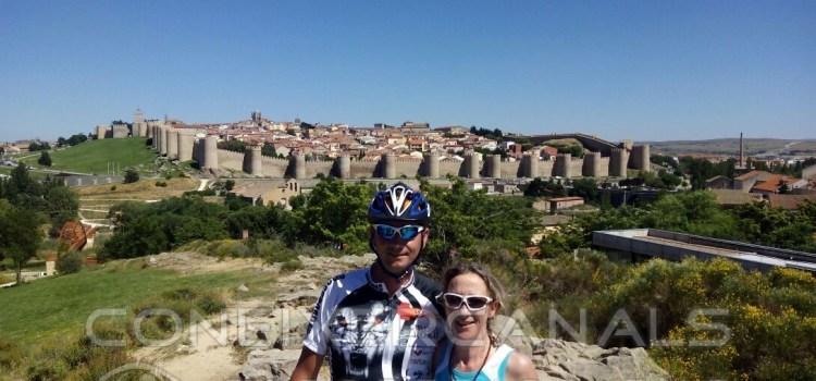 Toni i Ana estan ja en Rionegro del Puente, Zamora.