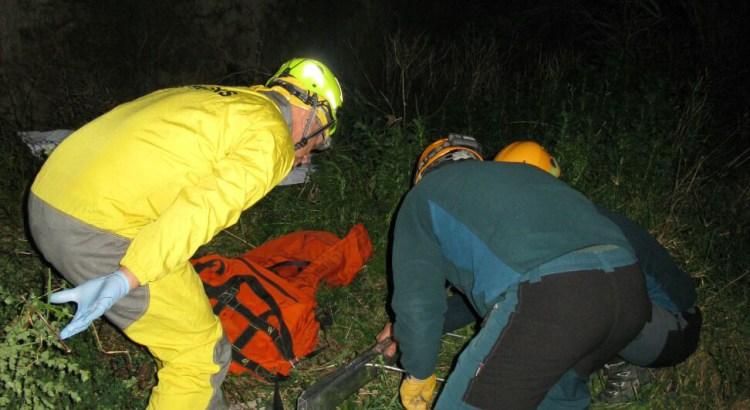 La Guardia Civil rescata el cuerpo sin vida de una persona en la localidad de Canals tras precipitarse de un puente