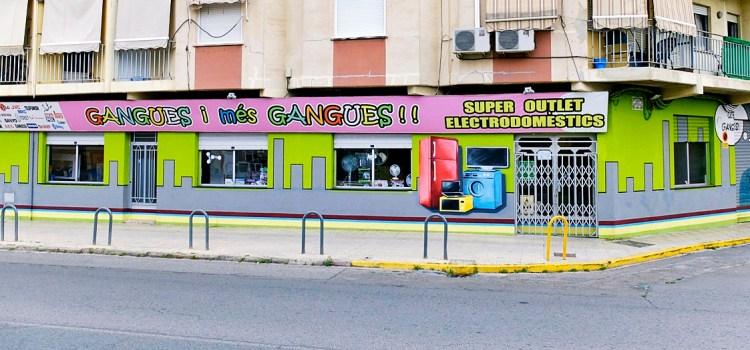Gangues i més Gangues lider en electrodomèstics en Canals
