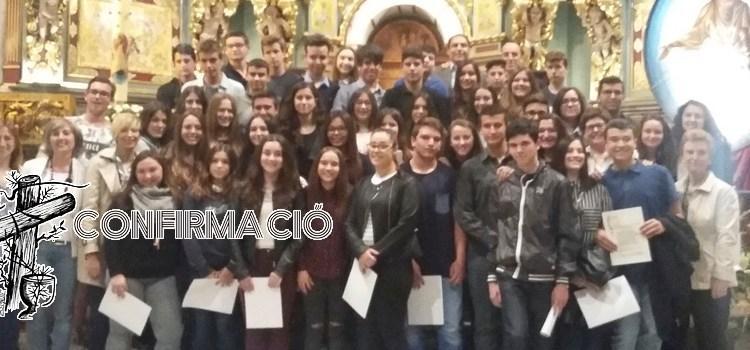 Entrega del Credo als joves de confirmació