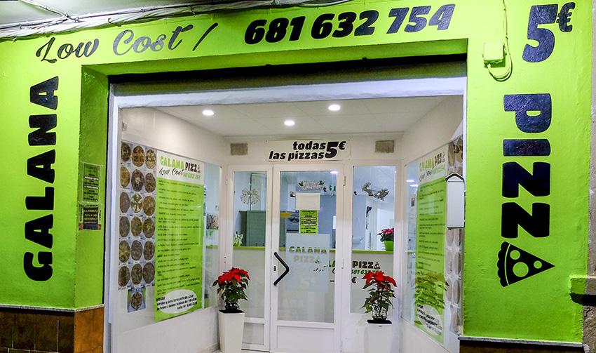 Galana Pizza low cost en Canals