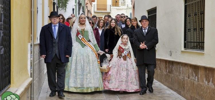 Sant Antoni 2018: Les Festeres porten ous a les monjetes del Convent