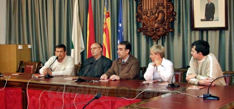 Un día com huí: Presentació del llibre la Profecía de Sant Vicent Ferrer en març de 2008