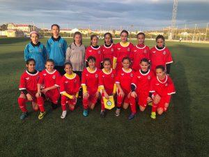 Calendario y horarios del Campeonato Femenino Sub-12