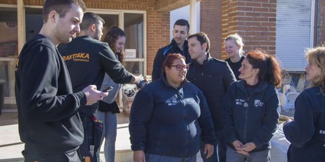"""L'escola d'ocupació """"Escorxador viu"""" acollirà pràctiques d'estudiants Erasmus"""