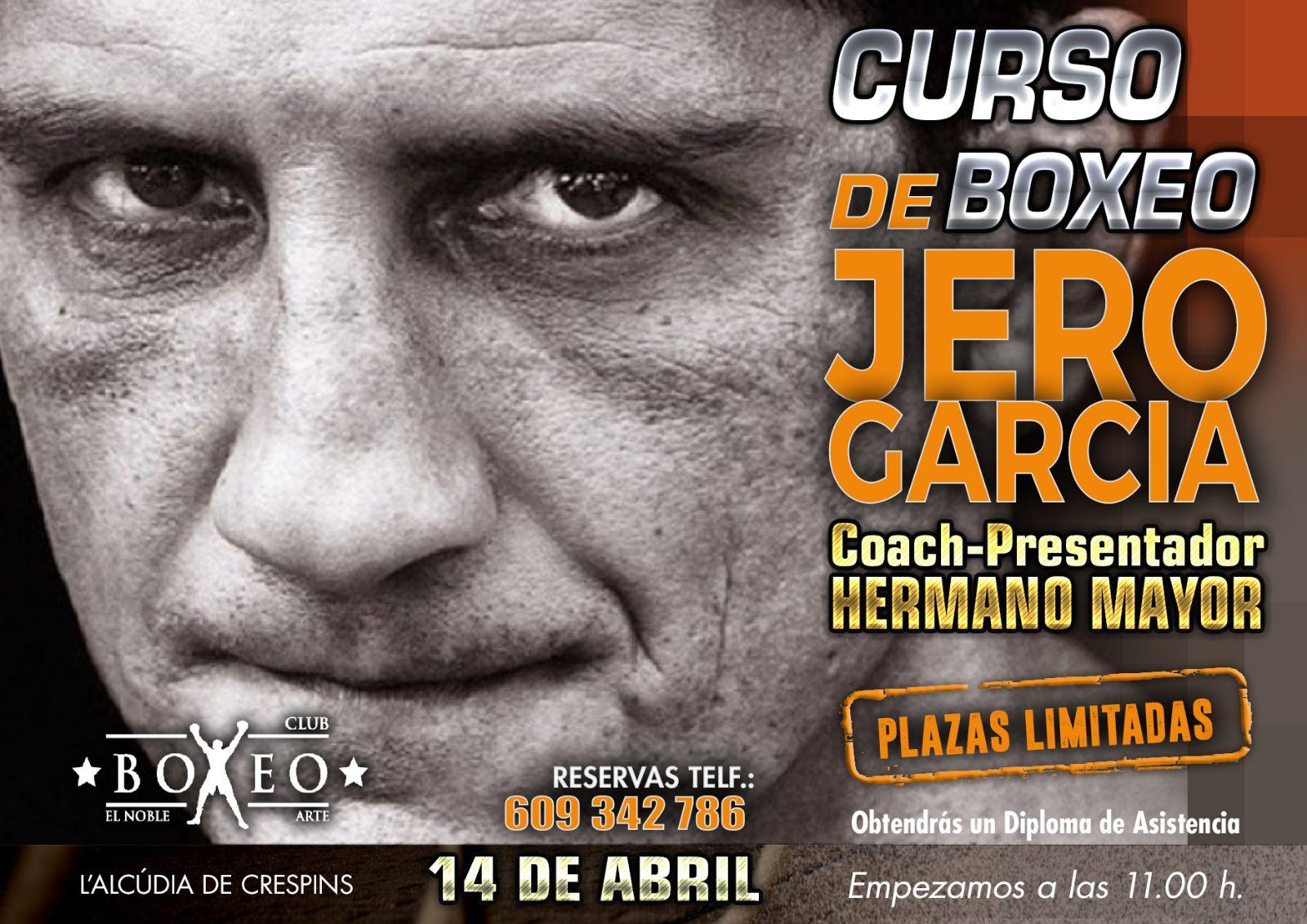 Curso de Boxeo Jero Garcia este dissabte a l'Alcúdia de Crespins