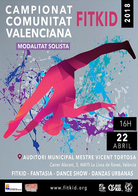 La Llosa de Ranes acull el Campionat de la Comunitat Valenciana de Fitkid