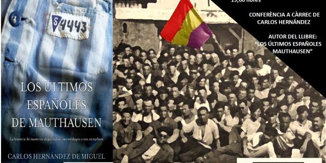Les Jornades de Memòria Democràtica s'endinsen en la història dels espanyols represaliats als camps de concentració nazis