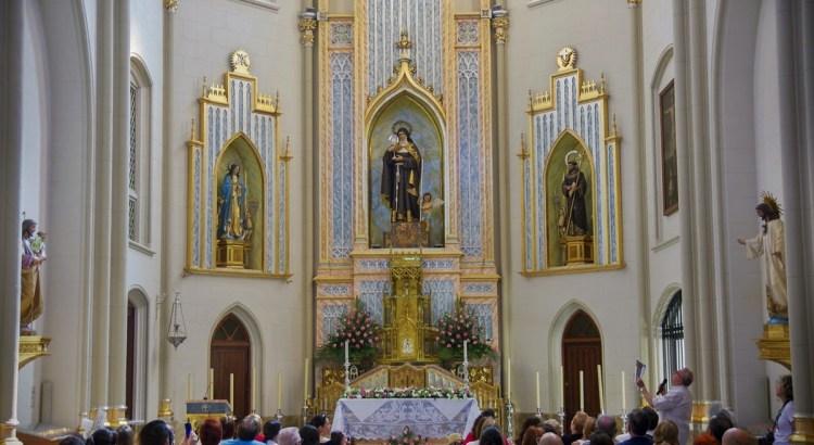 Las clarisas de Canals celebran su fiesta litúrgica.