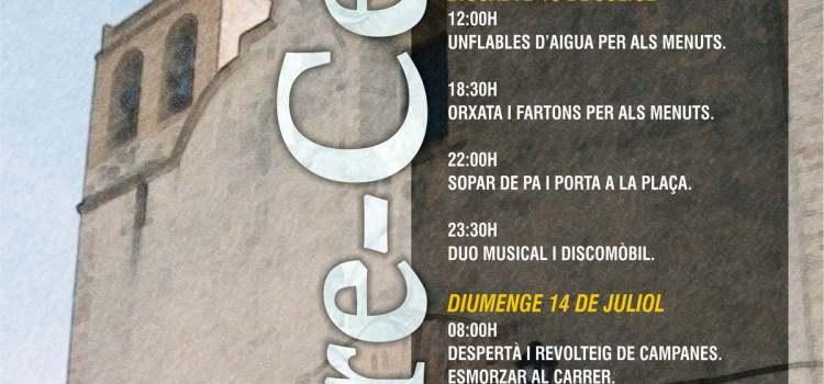 Este viernes se inician las fiestas en Torre-Cerdà.