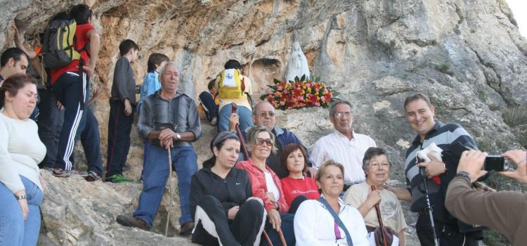 Se organiza una romería a la Virgen de los Dolores de la Senda del Portalet en Canals.