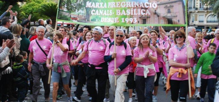MAPEBA informa sobre la marcha Canals-basílica del próximo 18 de abril