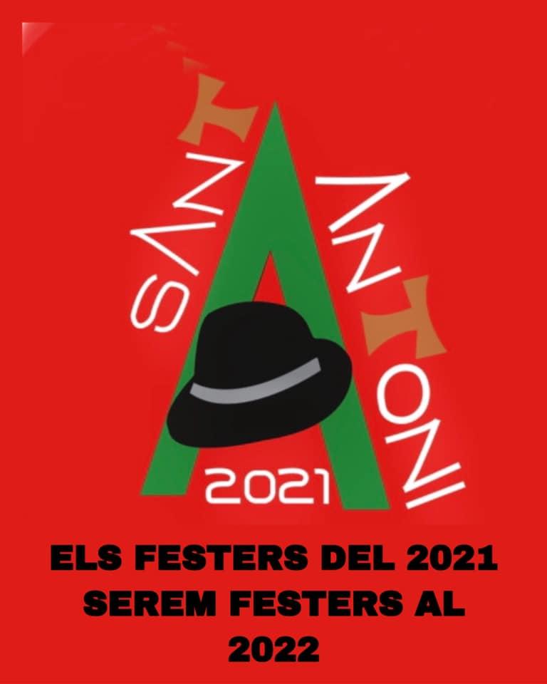 Els Festers de Sant Antoni de 2021 passaran a ser festers al 2022 degut al Covid-19.
