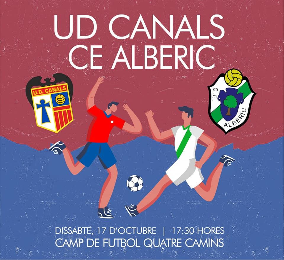 El sábado empieza la liga con el partido UD Canals-CE Alberic