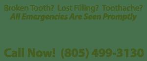 Thousand-Oaks-Dentist-Emergencies - Call 805-499-3130