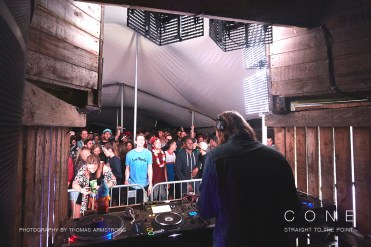 Leon Vynehall, Farr Festival on Cone magazine