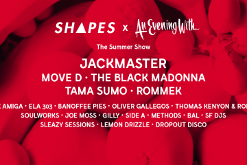 Shapes and an evening with summer show on cone magazine