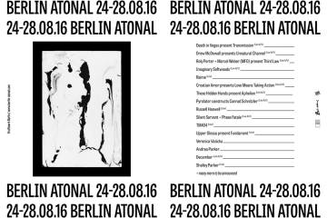 Berlin Atonal on Cone Magazine