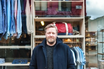 The Professionals How to run a clothing store with oi polloi owner steve sanderson