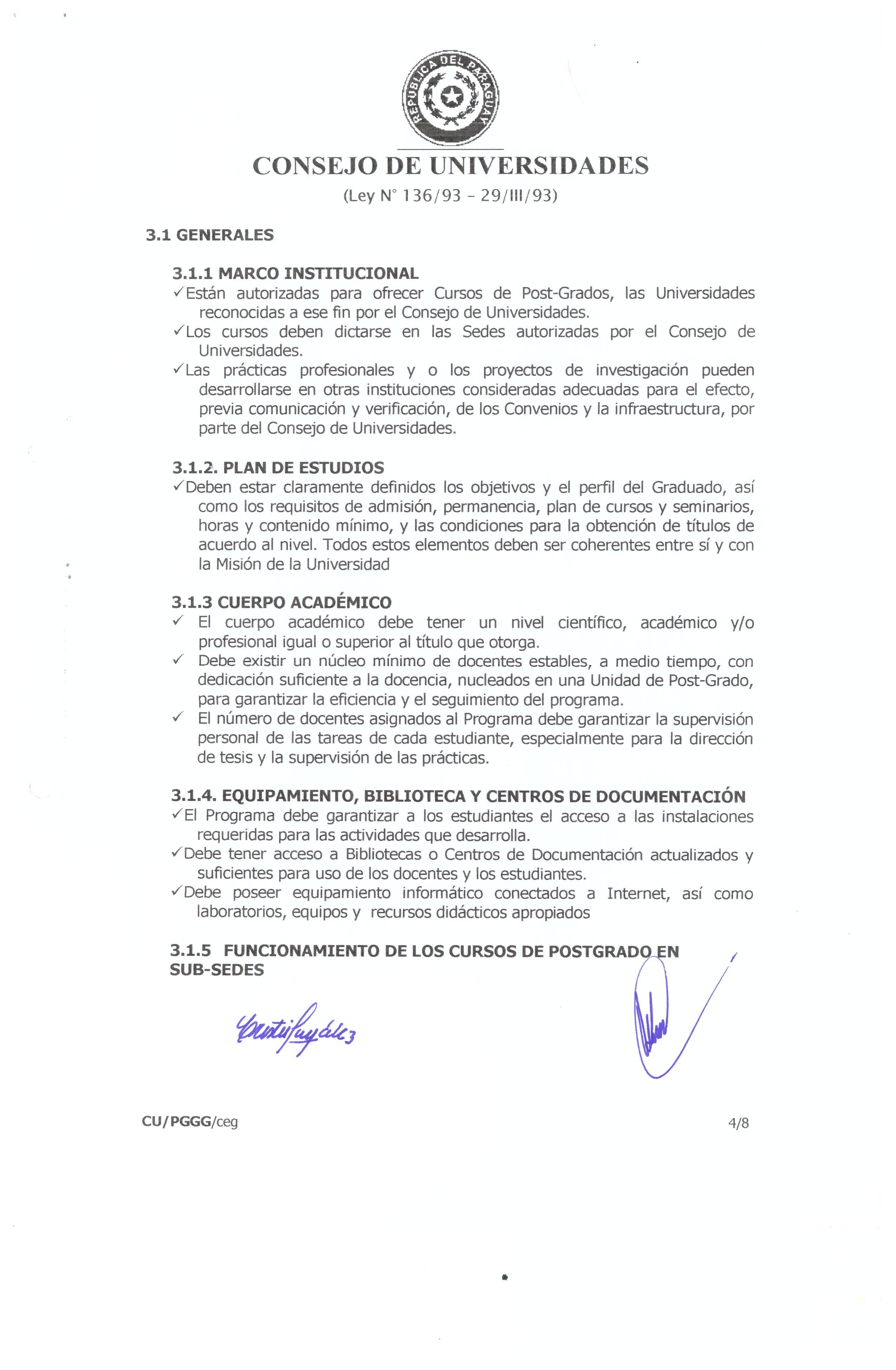 Acta N 03 ASN 03240308 Resolucin N 0408 Por la cual se aprueba el Reglamento de