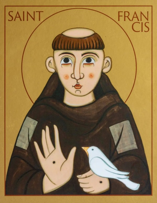 Print icon of Saint Francis